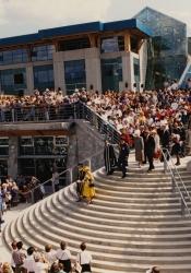 Queen Elizabeth II Opens UNBC